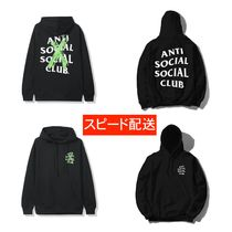 ANTI SOCIAL SOCIAL CLUB Unisex Sweat Street Style Hoodies