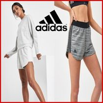 adidas Short Stripes Casual Style Street Style Cotton
