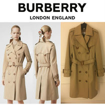 Burberry D ring Other Check Patterns Long Trench Coats