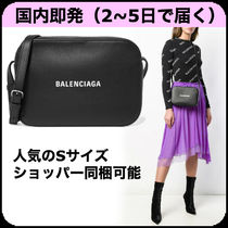 BALENCIAGA EVERYDAY TOTE Plain Leather Shoulder Bags