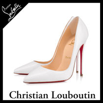 Christian Louboutin So Kate Blended Fabrics Other Animal Patterns Leather Pin Heels