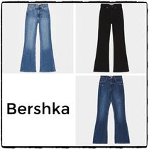 Bershka Denim Plain Long Jeans