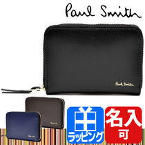 Paul Smith Plain Leather Coin Cases