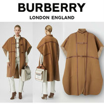 Burberry Wool Long Ponchos & Capes