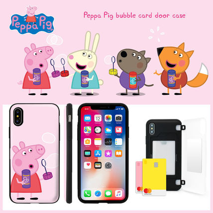 Peppa Pig Unisex Other Animal Patterns iPhone 8 iPhone 8 Plus iPhone X