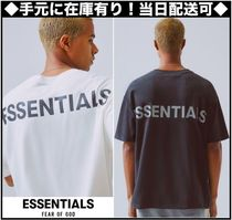 FEAR OF GOD ESSENTIALS Street Style Short Sleeves T-Shirts