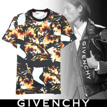 GIVENCHY Street Style Cotton Short Sleeves T-Shirts