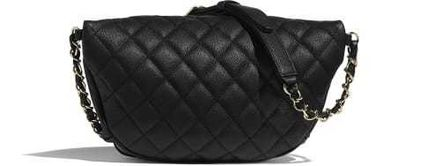 CHANEL Shoulder Bags Casual Style Calfskin Blended Fabrics Street Style 2WAY 3