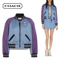 Coach Short Star Blended Fabrics Street Style Collaboration