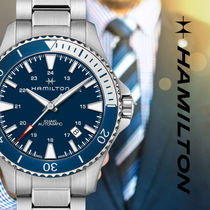 Hamilton Street Style Mechanical Watch Analog Watches