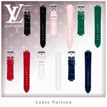 Louis Vuitton Blended Fabrics Leather Watches