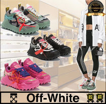 Off-White Unisex Street Style Plain Low-Top Sneakers