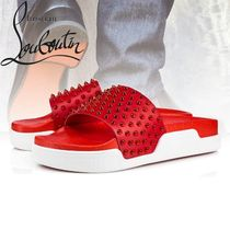 Christian Louboutin Studded Sport Sandals Sports Sandals