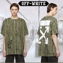 Off-White Camouflage Short Sleeves T-Shirts