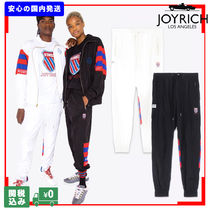 JOYRICH Unisex Nylon Street Style Collaboration Joggers & Sweatpants