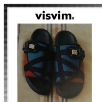 VISVIM Blended Fabrics Plain Sandals