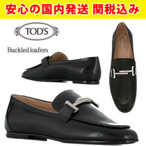 TOD'S Leather Loafer Pumps & Mules