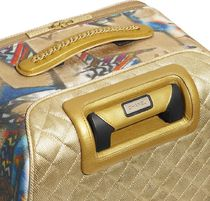 CHANEL Blended Fabrics Luggage & Travel Bags