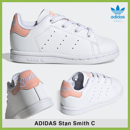 buy popular c8d7b f1838 adidas STAN SMITH 2019-20AW Baby Girl Shoes (EE7596)