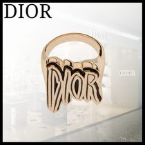 Christian Dior Unisex Street Style Rings