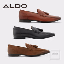 ALDO Loafers Tassel Plain Leather Oversized Loafers & Slip-ons
