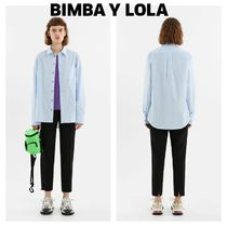 bimba & lola Casual Style Plain Long Cropped & Capris Pants