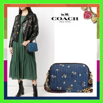 Coach Flower Patterns 2WAY Elegant Style Shoulder Bags
