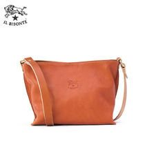 IL BISONTE Casual Style Leather Handbags
