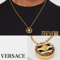 VERSACE Stripes Chain Necklaces & Chokers