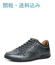 Hugo Boss Street Style Leather Sneakers