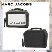 MARC JACOBS Box Bag Casual Style 2WAY Leather Shoulder Bags