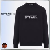 GIVENCHY Crew Neck Long Sleeves Cotton Sweatshirts