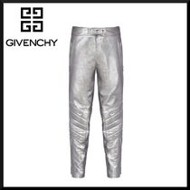 GIVENCHY Plain Leather Pants