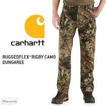Carhartt Printed Pants Camouflage Street Style Patterned Pants