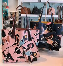 kate spade new york Flower Patterns A4 2WAY Leather Totes
