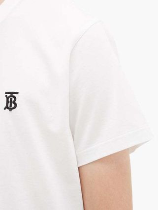 Burberry More T-Shirts Cotton Short Sleeves T-Shirts 5