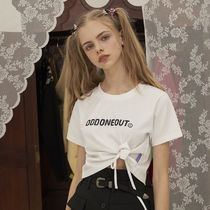 ODD ONE OUT Street Style Short Sleeves Tops