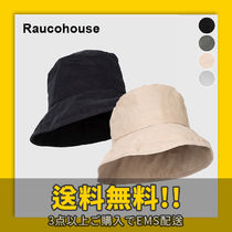 Raucohouse Unisex Bucket Hats Wide-brimmed Hats