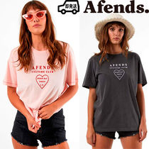 AFENDS Heart Cotton T-Shirts