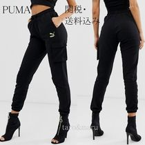 PUMA Casual Style Street Style Plain Cotton Pants