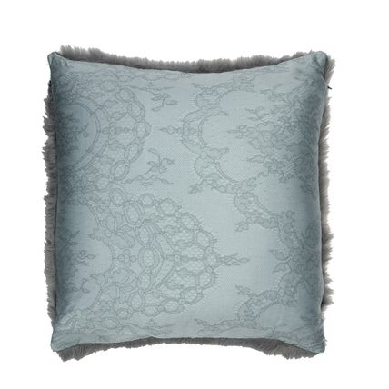 Collaboration Plain Eco Fur Decorative Pillows