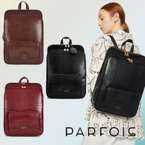 PARFOIS Casual Style Faux Fur Other Animal Patterns Backpacks