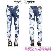 D SQUARED2 Blended Fabrics Street Style Cotton Jeans & Denim