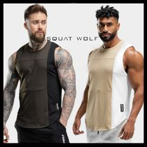 SQUAT WOLF Street Style Collaboration Yoga & Fitness Tops