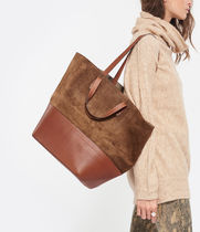 Jerome Dreyfuss Casual Style Calfskin A4 2WAY Totes