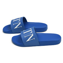 VALENTINO Street Style Plain Shower Shoes PVC Clothing Shower Sandals