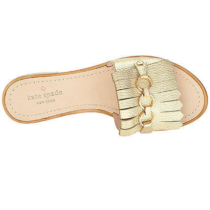 kate spade new york Open Toe Casual Style Plain Leather Sandals