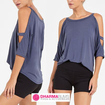 DHARMABUMS Street Style Yoga & Fitness Tops