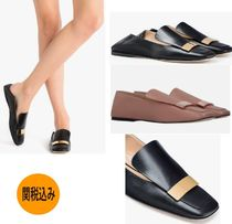 Sergio Rossi Plain Leather Flats