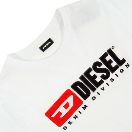 DIESEL Crew Neck Crew Neck Plain Cotton Short Sleeves Logo Crew Neck T-Shirts 6